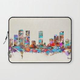 Denver Colorado skyline Laptop Sleeve