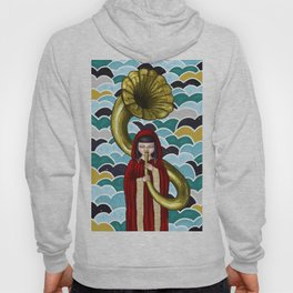 The Girl and the Gramophone Hoody
