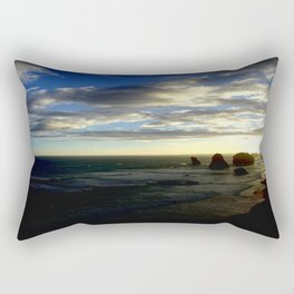 Clouds circling the Twelve Apostles Rectangular Pillow