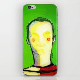HIDDEN FACE iPhone Skin