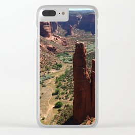 Spider Rock - Amazing Rockformation Clear iPhone Case