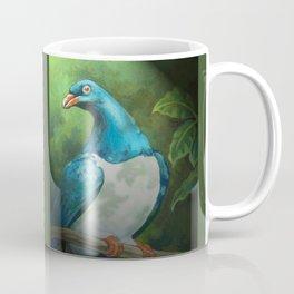 NZ Native Pigeon Kereru Coffee Mug