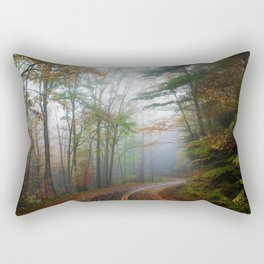 Subdued Forest (Color) Rectangular Pillow