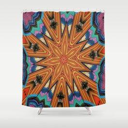 3 Dimensional Mandala Shower Curtain