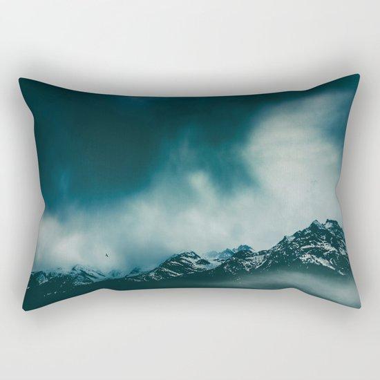 wild peaks Rectangular Pillow