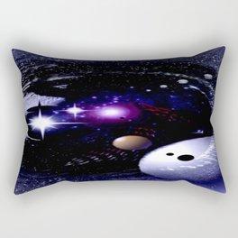 Sternenwelt abstrakt. Rectangular Pillow