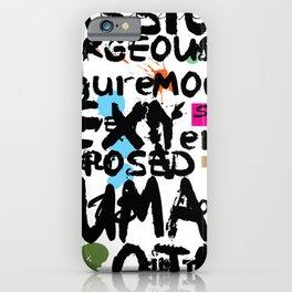 love words 2 iPhone Case