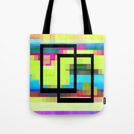 Time and Place Tote Bag