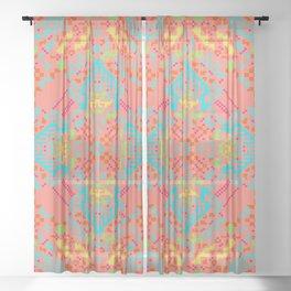 """""""Aurora"""" series #9 Sheer Curtain"""