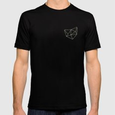 Geo MEDIUM Black Mens Fitted Tee