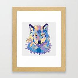 Wild Wolf Framed Art Print