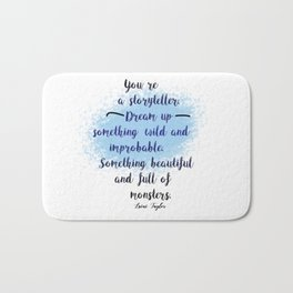 Storyteller | Strange the Dreamer Bath Mat