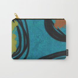 Midcentury Modern Art Circles Carry-All Pouch