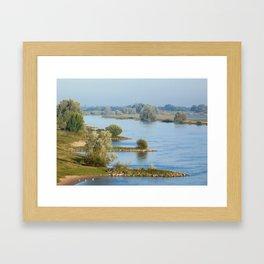 River IJssel Framed Art Print