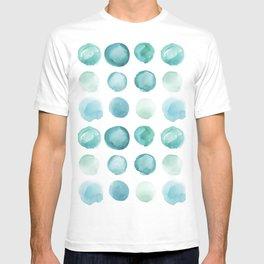 Blue Sea Glass Watercolor JUUL T-shirt