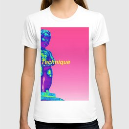 NewOrder Manneken Pis Technique T-shirt