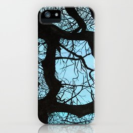 Tree study iPhone Case