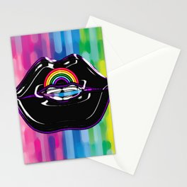 Proud Lips Stationery Cards
