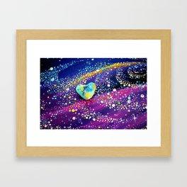 Celestial Love Framed Art Print