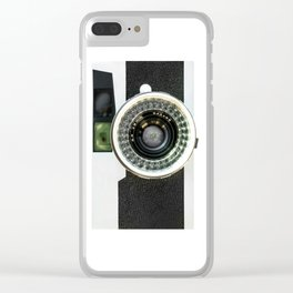 Vintage camera Clear iPhone Case