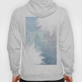 Fern Snowflakes - Taupe, Aqua & Blues Hoody