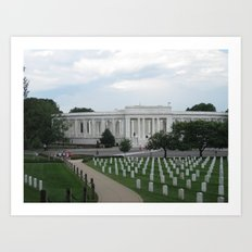 Arlington National Cemetery Art Print