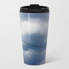 Geometric Wires  Travel Mug