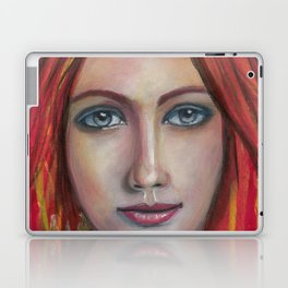 She speaks without voice Laptop & iPad Skin