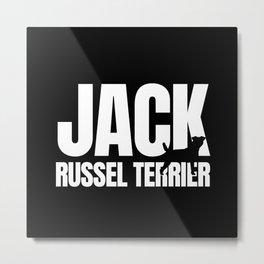 Jack Russel Terrier Breed Lover Metal Print
