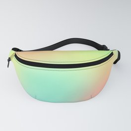 Soft Gradient Design (Pastel Pink, Yellow, Blue, and Green) Fanny Pack