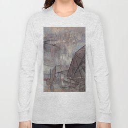 Crossing the Blurred Line Between Us Long Sleeve T-shirt
