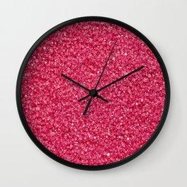 pink sugar Wall Clock