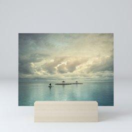 the art of silence Mini Art Print
