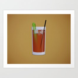 Bloody Mary Art Print