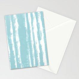 Shibori Stripe Seafoam Stationery Cards