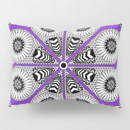 Totonaca mexican flower Pillow Sham