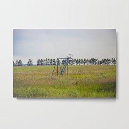 Playground, Palmgren Township School, North Dakota 1 Metal Print