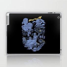 Hispanic Legend La Llorona (purple) Laptop & iPad Skin
