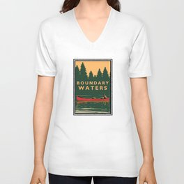 LANDMARK SERIES | MN BOUNDARY WATERS Unisex V-Neck