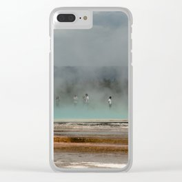 Geyser Heaven Clear iPhone Case