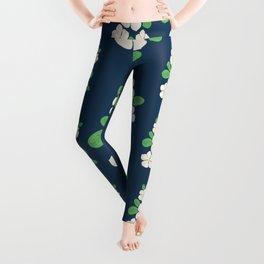 Periwinkle Flower Leggings