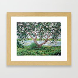 Beaufort Live Oak Framed Art Print