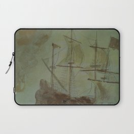 Ship - 13, Aug. 2010 - Tonight's Watercolor Laptop Sleeve