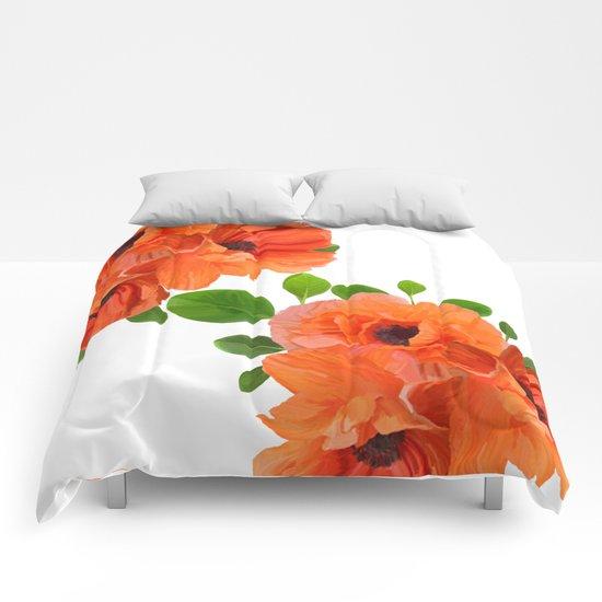 Poppies Comforters