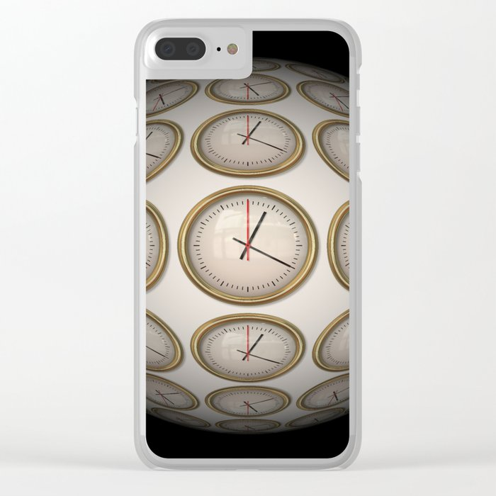 Time Time Time Clear iPhone Case