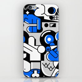 GET THE PARTY STARTED. STREET ART2 iPhone Skin