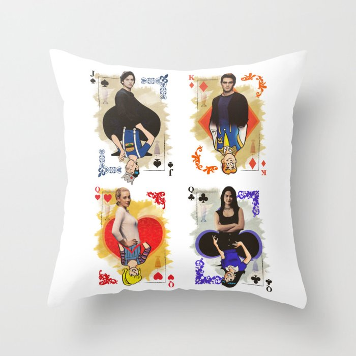 Archie Riverdale Throw Pillow By Maxencepierrard Society40 Magnificent Riverdale Decorative Pillows