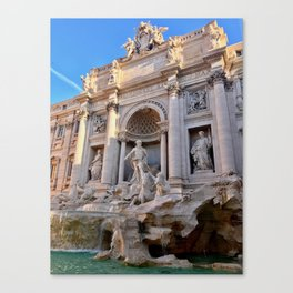 Trevi Fountain in Rome Canvas Print