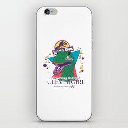Clevergirl iPhone Skin