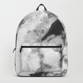 Gray marble trend Backpack